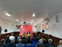 Fotografia da sessão pública na Junta de Freguesia de Cabeça Santa
